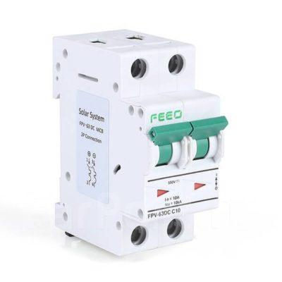 Автомат защиты постоянного тока 63A 2P